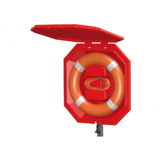 Life buoy cabinet - Large closed