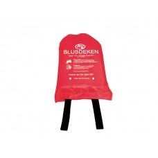 Fire blanket with canvas wall holder (100x100)