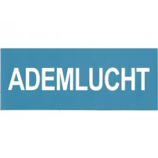 Ademlucht sticker