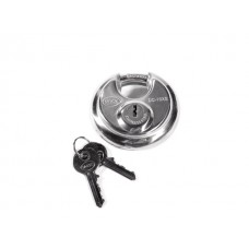 Stainless steel disc padlock (anti-drill protection)